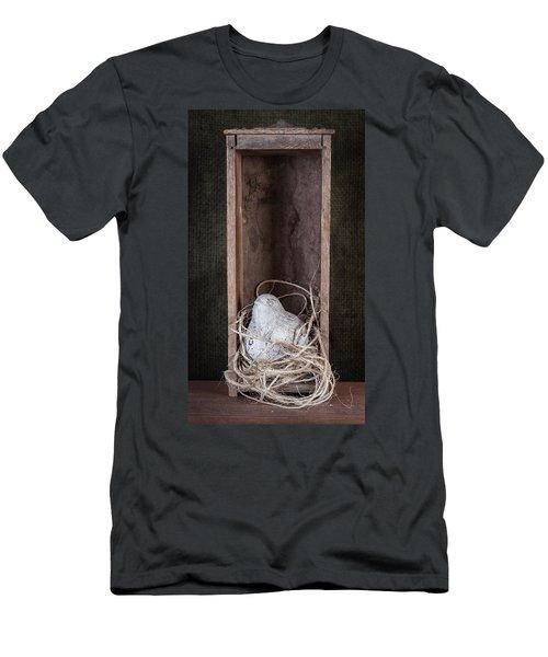 Nesting Bird Still Life Men's T-Shirt (Athletic Fit)