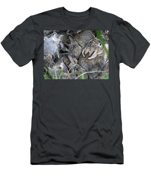 Nestled In Their Den Men's T-Shirt (Athletic Fit)