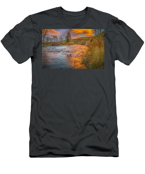 Men's T-Shirt (Slim Fit) featuring the photograph Nevada Gold  by Scott McGuire