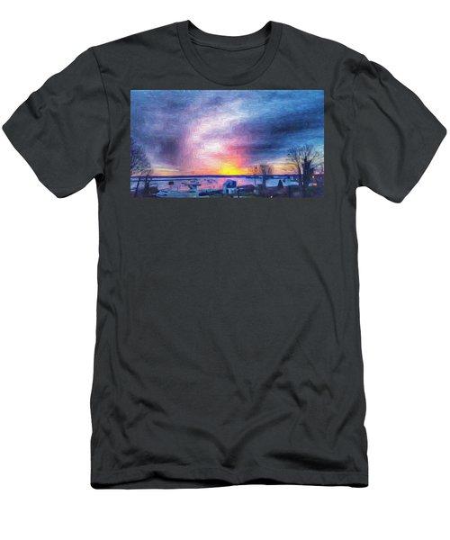 New Dawn Vineyard Haven Men's T-Shirt (Athletic Fit)