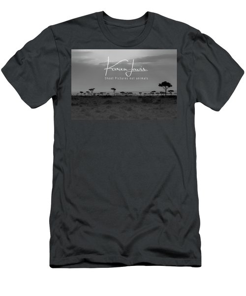 Men's T-Shirt (Slim Fit) featuring the photograph New Day On The Mara by Karen Lewis