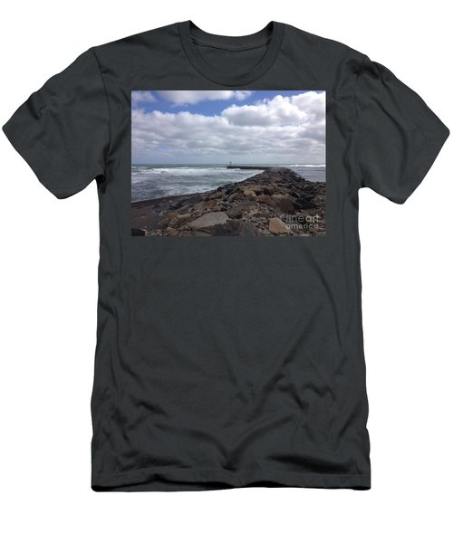 New England Jetty Men's T-Shirt (Athletic Fit)