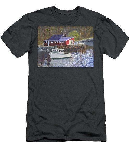 New Harbor Sunrise Men's T-Shirt (Athletic Fit)