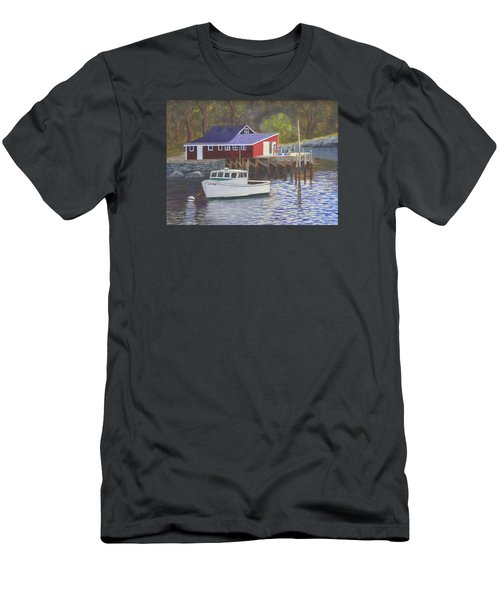New Harbor Sunrise Men's T-Shirt (Athletic Fit)