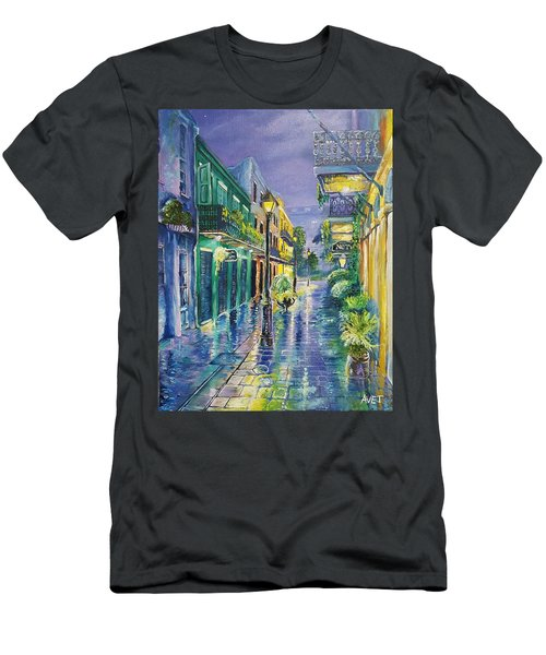New Orleans Exchange Alley Men's T-Shirt (Athletic Fit)