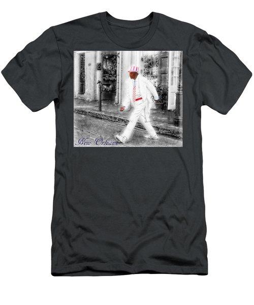New Orleans Mime Patriot Men's T-Shirt (Athletic Fit)