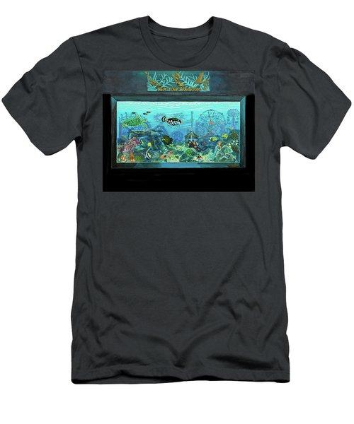 New York Aquarium Men's T-Shirt (Athletic Fit)
