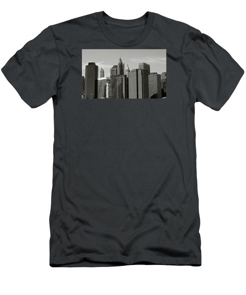 New York City Men's T-Shirt (Slim Fit) by Helen Haw