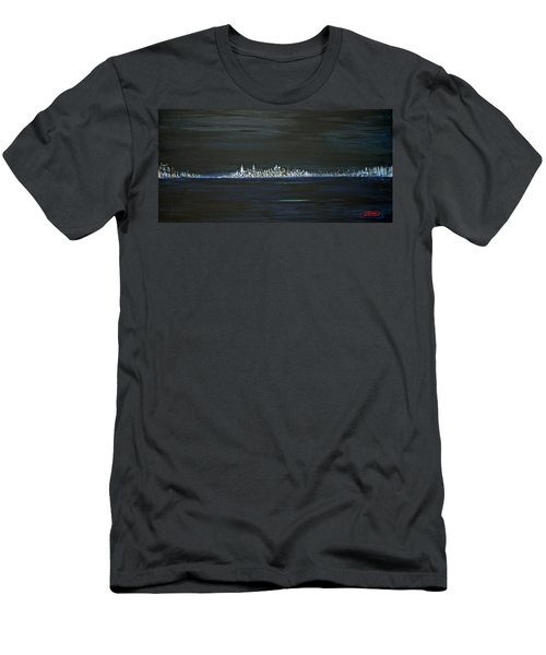 New York City Nights Men's T-Shirt (Slim Fit)