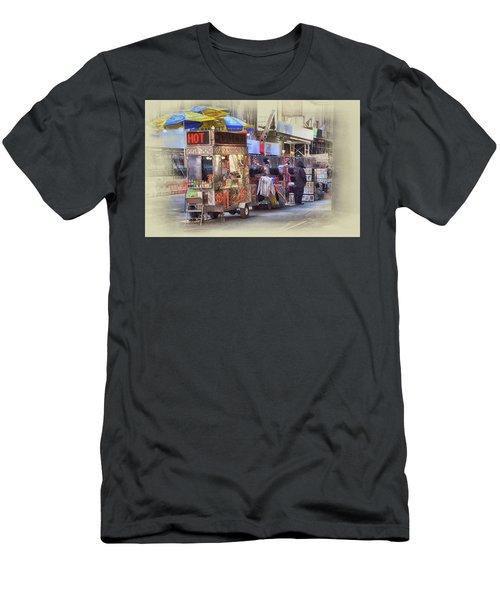 New York City Vendor Men's T-Shirt (Slim Fit) by Dyle Warren