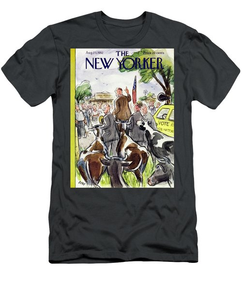 New Yorker August 23 1952 Men's T-Shirt (Athletic Fit)
