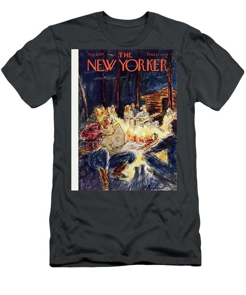 New Yorker August 3 1957 Men's T-Shirt (Athletic Fit)