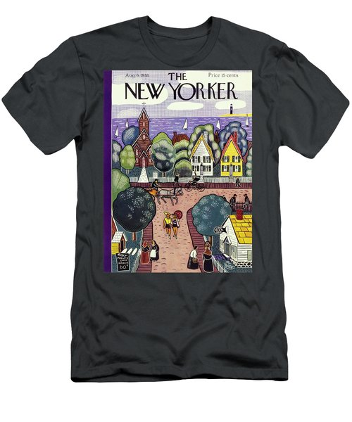 New Yorker August 6th, 1938 Men's T-Shirt (Athletic Fit)