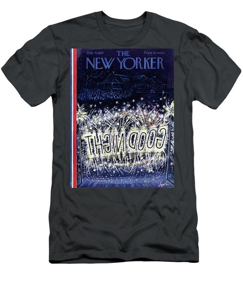 New Yorker July 4 1953 Men's T-Shirt (Athletic Fit)