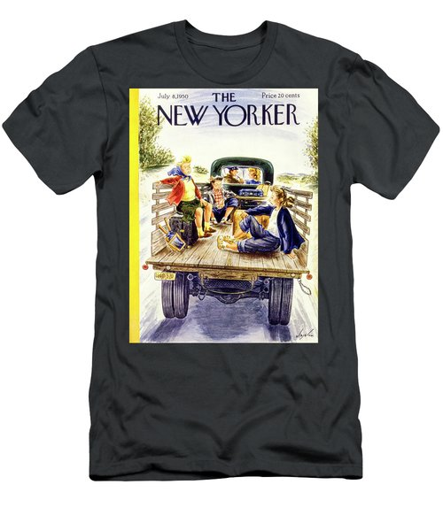 New Yorker July 8 1950 Men's T-Shirt (Athletic Fit)