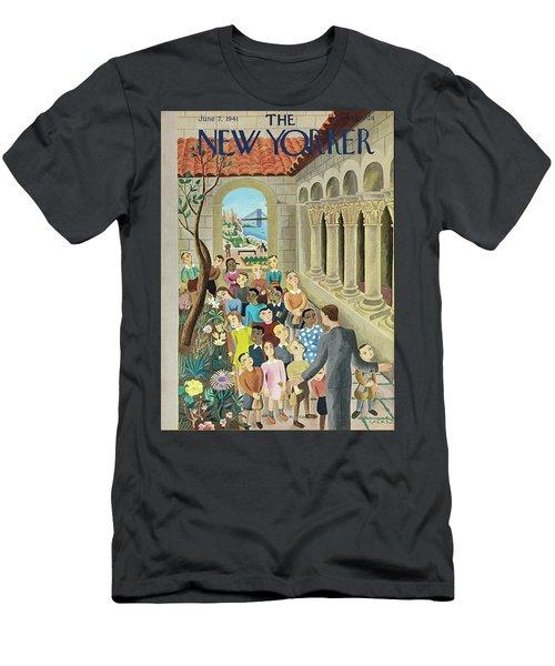 New Yorker June 7 1941 Men's T-Shirt (Athletic Fit)