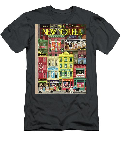 New Yorker March 18 1944 Men's T-Shirt (Athletic Fit)