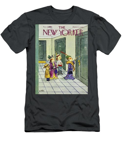 New Yorker November 1 1958 Men's T-Shirt (Athletic Fit)
