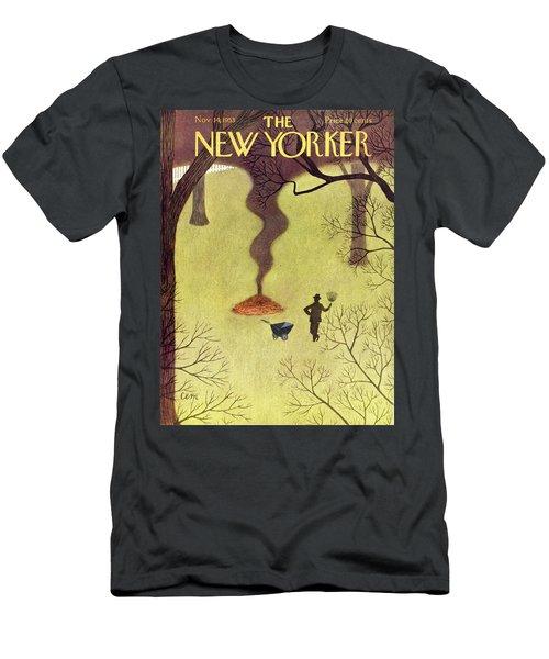 New Yorker November 14 1953 Men's T-Shirt (Athletic Fit)
