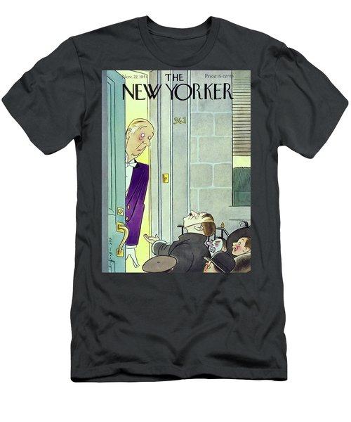 New Yorker November 22 1941 Men's T-Shirt (Athletic Fit)