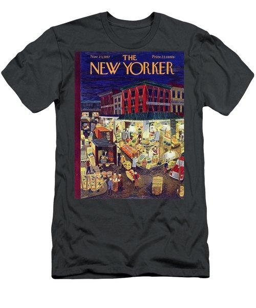 New Yorker November 23 1957 Men's T-Shirt (Athletic Fit)
