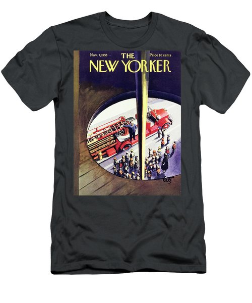 New Yorker November 7 1953 Men's T-Shirt (Athletic Fit)