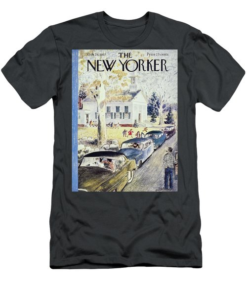 New Yorker October 26th 1957 Men's T-Shirt (Athletic Fit)