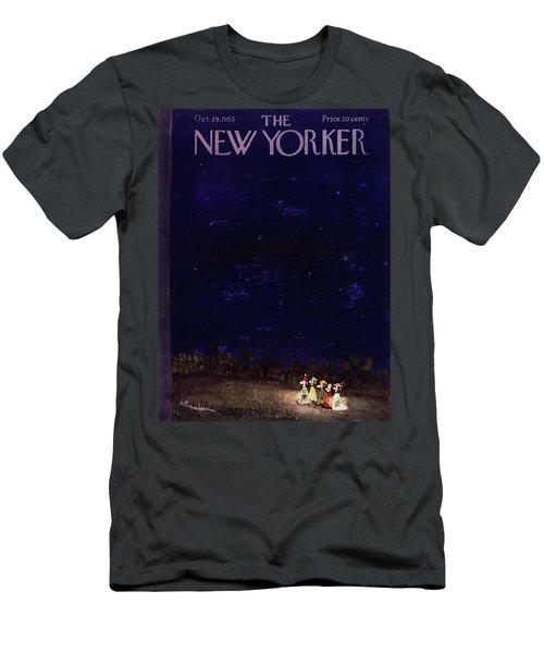 New Yorker October 29 1955 Men's T-Shirt (Athletic Fit)