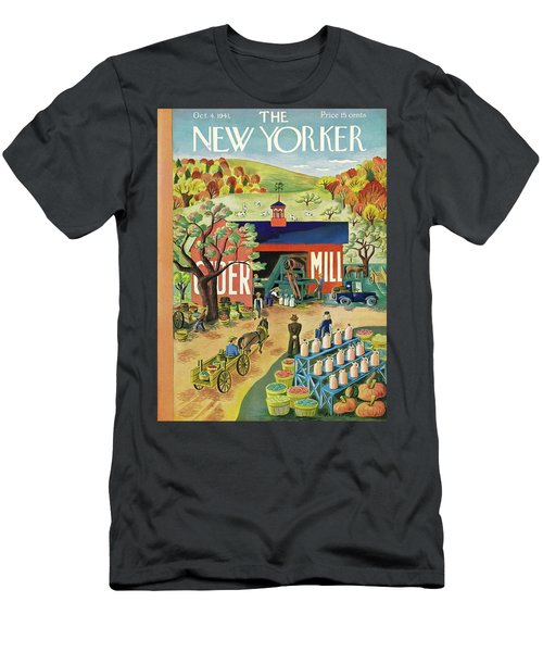 New Yorker October 4 1941 Men's T-Shirt (Athletic Fit)