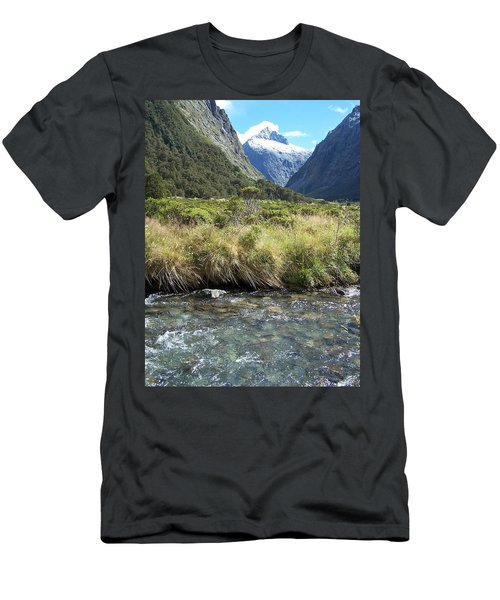 New Zealand Landscape 2 Men's T-Shirt (Athletic Fit)