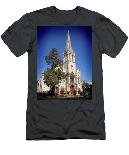Newburgh First United Methodist Church Men's T-Shirt (Athletic Fit)