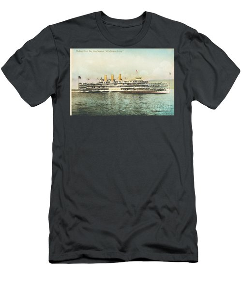 Newburgh Steamers Ferrys And River - 30 Men's T-Shirt (Athletic Fit)