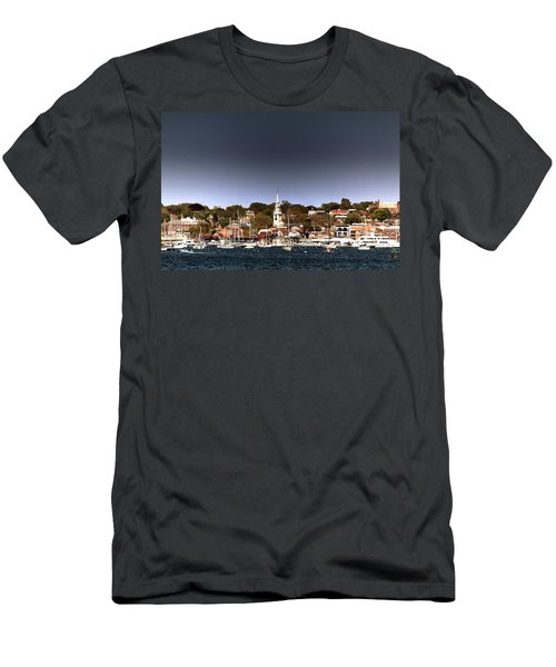 Men's T-Shirt (Slim Fit) featuring the photograph Newport by Tom Prendergast