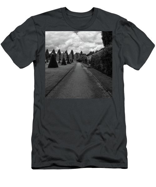 Newstead Abbey Country Garden Gravel Path Men's T-Shirt (Athletic Fit)
