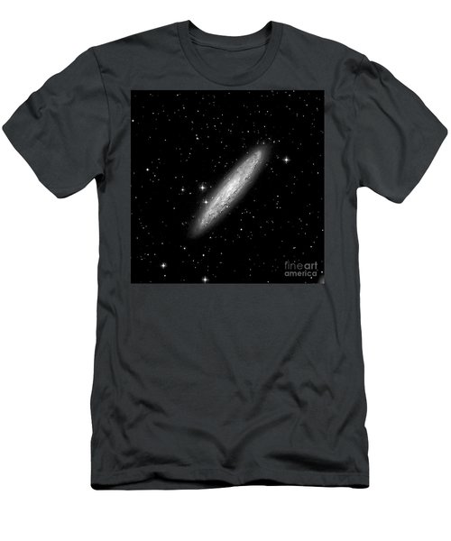 Ngc253 The Sculptor Galaxy Men's T-Shirt (Athletic Fit)