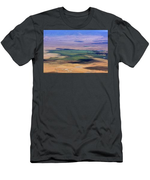 Ngorongoro Crater Tanzania Men's T-Shirt (Athletic Fit)