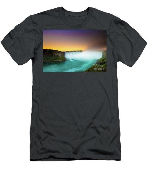 Niagara Falls  Men's T-Shirt (Slim Fit) by Mariusz Czajkowski