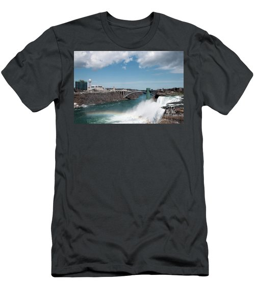 Niagara Falls New York Men's T-Shirt (Athletic Fit)