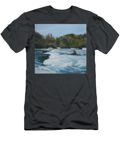 Niagra Rapids Men's T-Shirt (Athletic Fit)