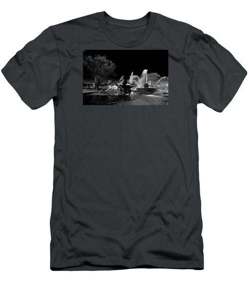 Nichols Fountain Men's T-Shirt (Slim Fit) by Jim Mathis