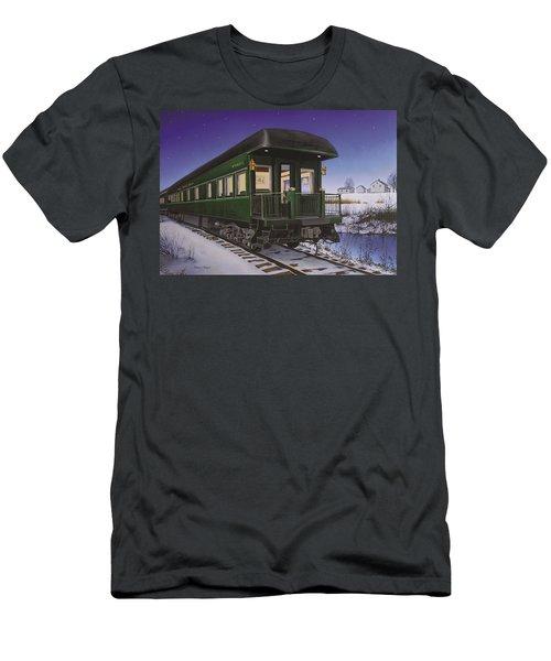 Nickel Plate 1 Men's T-Shirt (Athletic Fit)