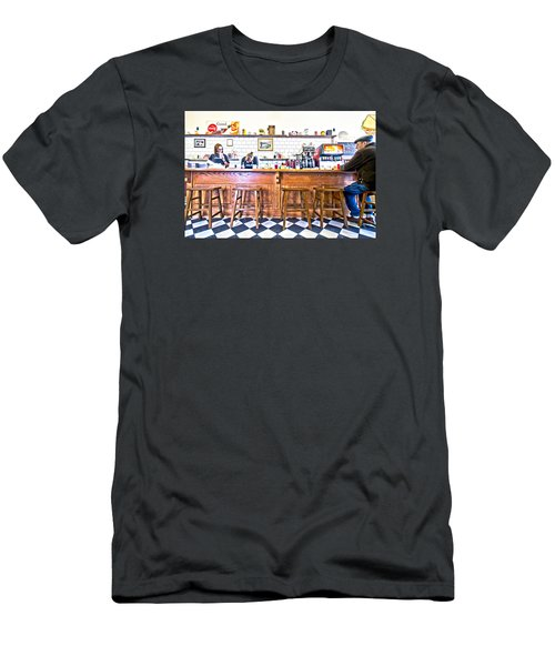 Nick's Diner Men's T-Shirt (Athletic Fit)