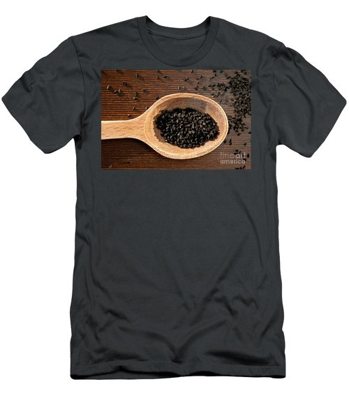 Nigella Sativa Dry Seeds Portion Men's T-Shirt (Athletic Fit)