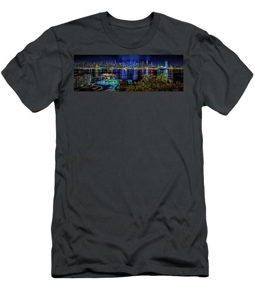Night Beauty Men's T-Shirt (Athletic Fit)