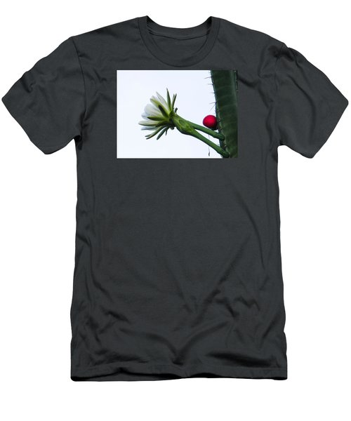 Night Bloomer Men's T-Shirt (Slim Fit) by Christy Usilton