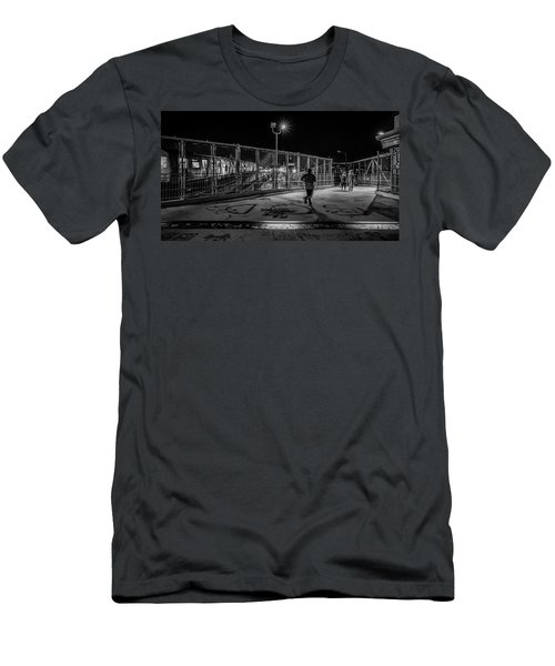 Night Commute  Men's T-Shirt (Athletic Fit)