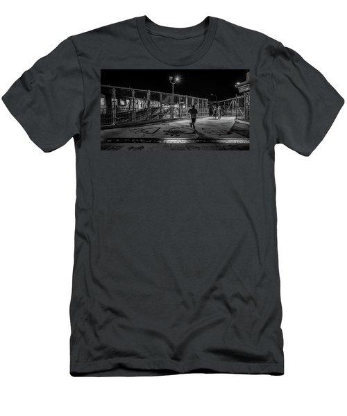 Night Commute  Men's T-Shirt (Athletic Fit)