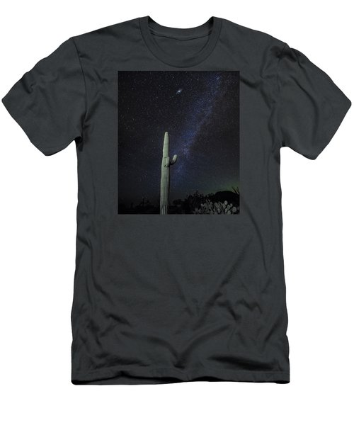 Night Desert Skies Men's T-Shirt (Athletic Fit)
