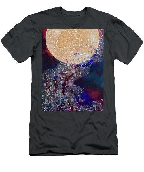 Night Magic Men's T-Shirt (Athletic Fit)