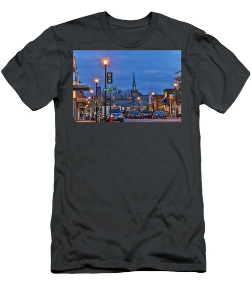 Night On The Town Men's T-Shirt (Athletic Fit)